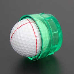 Golf ball marker line online shopping golf ball line marker tool 360 degree gonkux golf scriber golf ball line marker liner template easily drawing tool maxwellsz