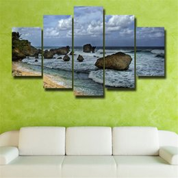 $enCountryForm.capitalKeyWord NZ - 5p modern Home Furnishing HD picture Canvas Print art wall of the sitting room children room decoration theme -- Seascape