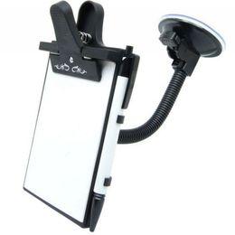 Evrensel Esnek Araba Pencere Emmek Dağı Kart Tablet Mesajı Notları Yazma Ped Tutucu Tablet Tutucu Araba Için Yüksek Kaliteli EA5068