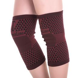 Опт поддержка колена турмалиновой магнитотерапией облегчение боли эластичные спортивные подтяжки колена