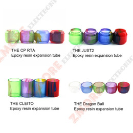 Discount electronic replacement - High quality Dragon Ball CLEITO Replacement Resin Tube I just 2 Tank Atomizers Tubes Electronic Cigarette Best Price Fre