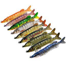 $enCountryForm.capitalKeyWord NZ - New Saltwater Fishing Big Game Sea Lure 66g 20cm ABS Plastic 8 sections Hard Bait Bass Baits