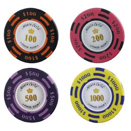 high quality poker chips 14g clay iron abs casino chips crown texas holdu0027em poker wholesale - Clay Poker Chips