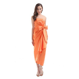 off white tea length dresses UK - Latest Attractive Off the Shoulder Cocktail Dresses Tea Length Fashion Ladies Party Dress Beach Style Wholesale Price