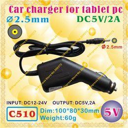 Freelander tablet pc online shopping - C510 mm Pin0 mm V A Car charger for tablet pc ONDA CUBE AMPE SANEI AINOL VIDO FREELANDER ONN IAIWAI ALLFINE