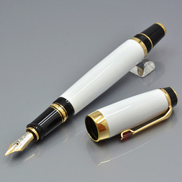 diamond types quality NZ - Good quality Bohemie series white and Black Resin diamond cap design classic 4810 Nib Fountain pen for MB brand office writing ink pen gifts