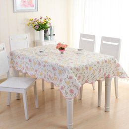 2017 Waterproof U0026 Oilproof Wipe Clean PVC Vinyl Tablecloth Dining Kitchen  Table Cover Protector OILCLOTH FABRIC COVERING
