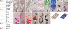 feather flowers 2019 - Henna Paisley Mandala Feather Soft TPU Case For Iphone 7 7p Plus 6 6S SE 5 5S Ipod Touch 6 5 Gradient Flower Butterfly D