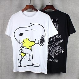 df52760a5b Snoopy T Shirts Canada - men s lastest 2016 fashion brand short sleeve  snoopy printed t-