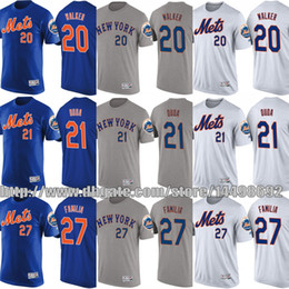 17c3c999f44 ... Cool Base 2015 World Series Home Jersey New York Mets 2017 MLB T-Shirt  Mens Youth 20 Neil Walker 21 Lucas Duda ...