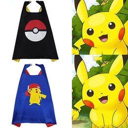 halloween kids superhero capes baby pikachu costume boys girl children birthday wear gift party supplies hero cosplay - Halloween Kid Games Online