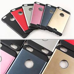 Brushed Aluminium Iphone Metal Australia - Ultra thin Motomo Brushed Brush Aluminium Metal PC Slate Hard Back Cover Case For iPhone 4S 5S 6 6S Plus