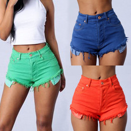 Discount High Waisted Jean Shorts For Women | 2017 High Waisted ...