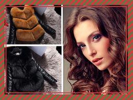 White Faux Fur Shorts Australia - Women's coat Winter Black Fur Coat Long Sleeve Faux Fur Outerwear Lady Short Style Fur Jacket
