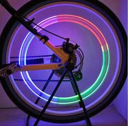 8273298688d New Bike Bicycle LED Wheels Spokes Lamp wheel Lights Motorcycle Electric  car Silicone Colorful flash alarm light cycle accessories