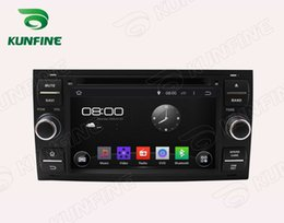 Ford Touch Screen Stereo Australia - Octa Core 2GB RAM Android 6.0 Octa Core Car DVD Player GPS Stereo Navi for Ford Focus Mondeo C-MAX Galaxy Fusion Connect Radio