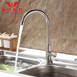 Cold Steel Kitchen Classics Canada - 2015 New Arrival Direct Selling Torneira Lead-free 304 Stainless Steel Kitchen Faucet Health Cold Vegetable Washing Basin