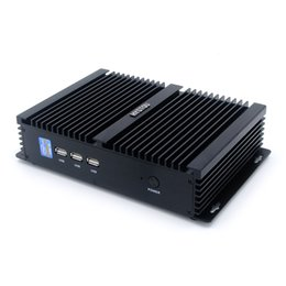 Intel I7 black online shopping - Mini PC i7 Gigabit Lan Wireless Network Broadwell u Intel computer Fanless Full Aluminium Alloy case ddr3l Laptop Memory mSATA quot SATA