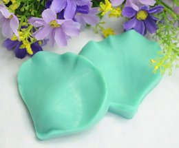 petal crafts Australia - 2X Petal Lace DIY Silicone Veiner Chocolate Sugar Craft Cookie Cake Decorating Baking Mold Fondant Mould