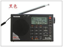 Sw Pack Australia - Wholesale-Tecsun PL310ET Full Band Radio Digital Demodulator FM SW MW LW DSP Stereo Radio Receiver upgraded version PL-310