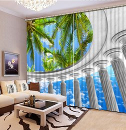 Custom Any Size Curtains For Living Room Balcony Tree Curtain Fashion Decor Home Decoration Bedroom