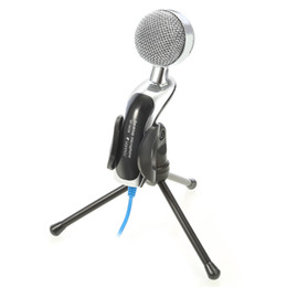 Wholesale Original YANMAI SF B Mic Studio Audio Sound Recording usb microphone Condenser Microphone with Microphone Stand for computer KTV B