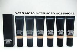 Liquid Foundation Pro Canada - HOT NEW Makeup Pro Longwear Nourishing Waterproof Foundation Fond DE Teint 25ml 6 Colors Free shipping by dhl