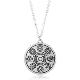 $enCountryForm.capitalKeyWord UK - Movie Jewelry Accessories Necklace Superhero Green Lantern Jewelry Necklace Link Chain Necklace
