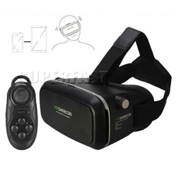 China VR Shinecon 3D Glasses Virtual Reality For 3.5-6.0 Inch Smartphone And Bluetooth Remote VR Box For Iphone Android Cellphone in Retail Box suppliers