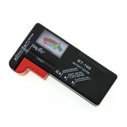 Battery Tester Bt UK - Wholesale BT168 Battery Tester BT-168 Universal Battery Checker LCD Digital Load Test Volt Checker Power Level of 1.5V 9V AA AAA Batteries