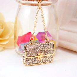 4a8c55c3ea0a Wholesale fashion keychains for handbags online shopping - Fashion HandBag  Crystal Rhinestone Bag Pendant Key Chain