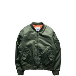 b56f76a168c 2017 NEW High Quality Ma1 Winter Army Green Military Varsity MA1 Flight  Jacket Pilot Air Force Men Women Bomber Jacket