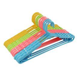 $enCountryForm.capitalKeyWord NZ - Strentch Wet Dry Dual Anti-slip Widproof Adults Plastic Hangers Adjustable Multi-function Racks for Lady Man clothes coat skirt