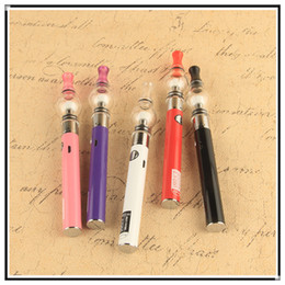 Ugo v dab pen online shopping - UGO V II mah mah Wax Pens With Glass Globe Wax Tank Vaporizer Dry Herb Fit Dab Pen