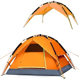 Wholesale- Automatic quick opening Outdoor c&ing tents 3-4 person Waterproof Double Layer hiking tent Strong aluminum alloy poles  sc 1 st  DHgate.com & Aluminum Tent Poles Suppliers | Best Aluminum Tent Poles ...