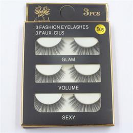 Discount sexy false eyelashes - 3D mink hair false eyelashes 8 Styles Handmade Beauty Thick Long Soft Mink lashes Fake EyeLashes Eyelash Sexy High Quali