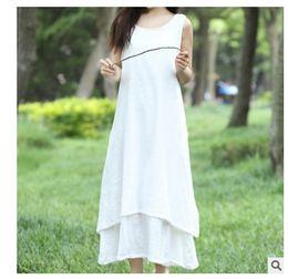 $enCountryForm.capitalKeyWord Canada - 2018 Summer Causal Brief Midi Women Dresses Purity Panelled Sleeveless Wine-Red White Blue Orange Black 170418-02