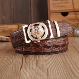 $enCountryForm.capitalKeyWord Canada - Mens fashion Belt New Designer Automatic Buckle 100% Cowhide Leather men belt 110cm-125cm Luxury belts for male free shipping