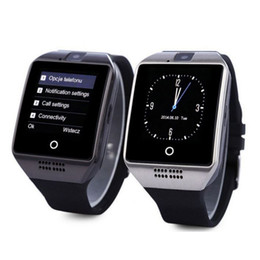 Bluetooth Smart Watch Sim Australia - For Iphone 6 7 8 X Bluetooth Smart Watch Q18 Mini Camera For Android iPhone Samsung Smart Phones GSM SIM Card Touch Screen