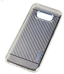 Cheap bag faCtory online shopping - For LG X Style Newest Fiber Cheap Clear TPU Colorful PC Hybrid Defender Smart Phone Cases with Retail Packaging Opp Bag Factory Price