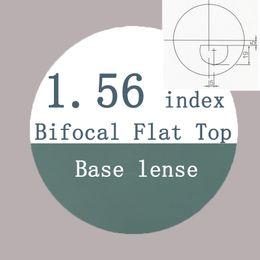 $enCountryForm.capitalKeyWord Canada - flat top bifocal1.56 index resin lens semi-finished base lens far-sightedness reading presbyopia optical lens for eyeglasses