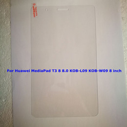 $enCountryForm.capitalKeyWord Australia - Tempered Glass Film for Huawei Mediapad T3 7 8 8.0 KOB-L09 KOB-W09 10 AGS-L03 AGS-L09 Wifi AGS-W09 Tablet Screen Protector + Cleaning Wipes