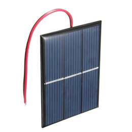 $enCountryForm.capitalKeyWord UK - Wholesale 0.65W 1.5V Solar Cell Polycrystalline Solar Panel DIY Solar Charger plus 15CM Cable Education Kis 5pcs lot FreeShipping