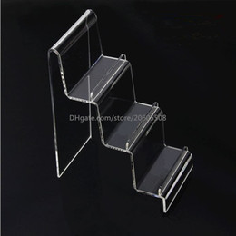 wholesale sundries products Canada - 5pcs Multifunctional clear acrylic digital products mobile phone jewellery Cosmetics display stand holder wallet purse display rack