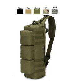 Oudoor Esportes Tactical Pack / Mochila / Mochila / Assault Combate Camuflagem Versipack Tático Molle Longo Peito Saco SO11-103 em Promoção