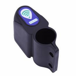 Mini Anti-Robo de Control Remoto Inalámbrico Alarma de Bicicletas Alarma de Sirena de Choque Sensor de Vibración Bicicleta Protector de Bloqueo de Bicicleta en venta