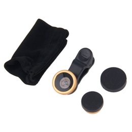 Fisheye lenses For cell phones online shopping - Degreen Fisheye Wide Angle Macro Lens For Cell Phone Universal for Cell Phones Camera HOT