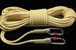32a9254ae Xinda (H) equipamento de queda de cabo Kevlar desgaste-resistente escalada  rapel corda estática corda de escalada corda de segurança ao ar livre