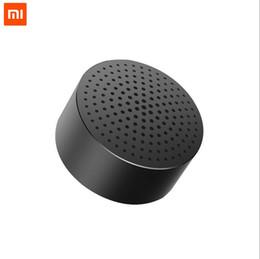 $enCountryForm.capitalKeyWord NZ - Original Xiaomi Aluminum Alloy Portable Mini Bluetooth Speaker For Cell Phone Tablet Bluetooth 4.0 Handfree Audio Player Speaker