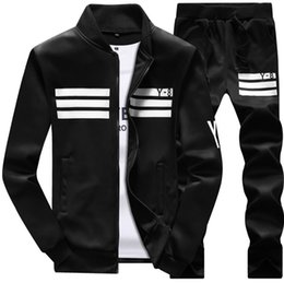 $enCountryForm.capitalKeyWord NZ - Men's Tracksuits 2018 new men's sports suit casual long-sleeved baseball uniform jacket Y8 student sweater male Outdoor leisure suit